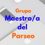 Logo del grupo Maestro del Parseo
