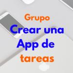 Logo del grupo Crear una App de tareas